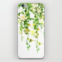Watercolor Ivy iPhone Skin