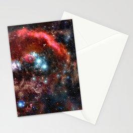 Orion Nebula Deep Colors Stationery Cards