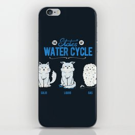 The States of the Water Cycle iPhone Skin