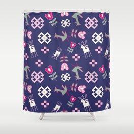 Yerevan Print Shower Curtain