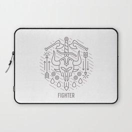 Fighter Emblem Laptop Sleeve