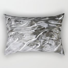 Tongues of fire, bound by ice. Rectangular Pillow