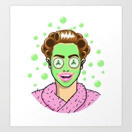 Beauty Monster Art Print
