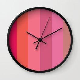 Brilliant Colors Wall Clock