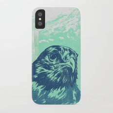 Go Hawks Slim Case iPhone X