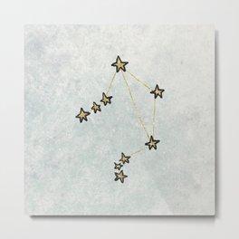 Libra x Astrology x Zodiac Metal Print