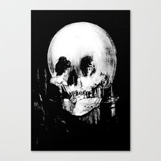All Is Vanity: Halloween Life, Death, and Existence  Canvas Print