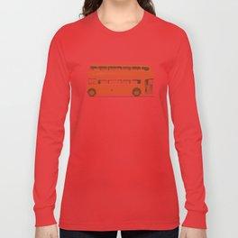 Red London Bus Long Sleeve T-shirt