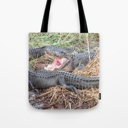 Say Aahhh Right Tote Bag