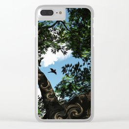 Bird Watching Clear iPhone Case