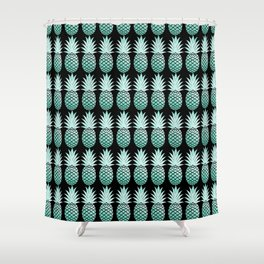 Pineapple Incident Shower Curtain