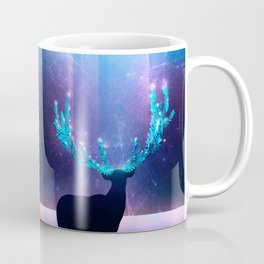 Greenery Deer - Sterling Magenta Coffee Mug