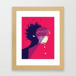 Shigeo Kageyama - Mob Psycho 100 Framed Art Print