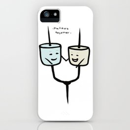 Mallows Together iPhone Case