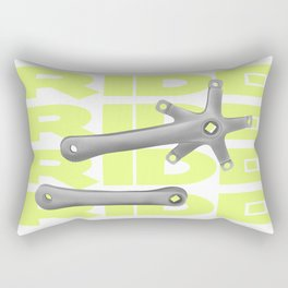 Bike Crankset Rectangular Pillow