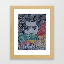 Fela Anikulapo Kuti Framed Art Print