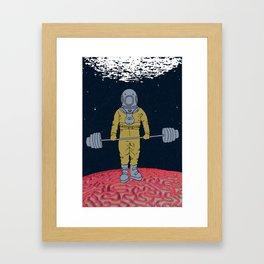 AQUA BURN Framed Art Print
