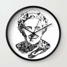 Agatha Christie Wall Clock