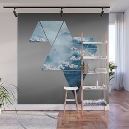 Fragmented Clouds Wall Mural