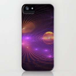 Many Worlds Away iPhone Case