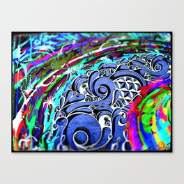 Tripping Over Waves Canvas Print
