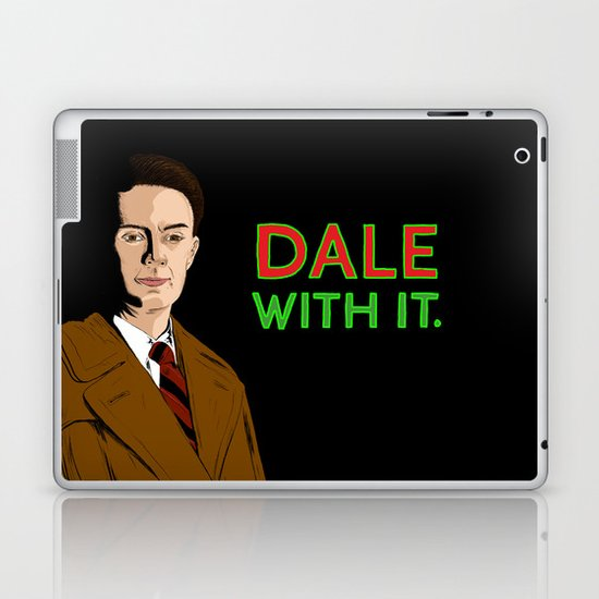 DALE WITH IT. Laptop & iPad Skin