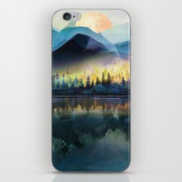 Mountain Lake Under Sunrise iPhone Skin
