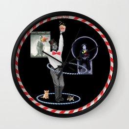 Paul Newman Hula Hoops (with kittens)  Wall Clock
