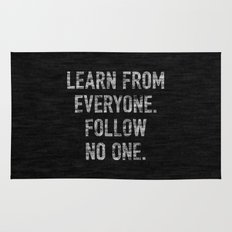 Learn from Everyone Rug