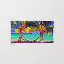 Beach with Hammock Hand & Bath Towel