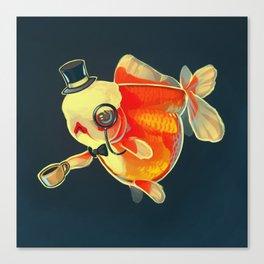 Dapper Goldfish Canvas Print