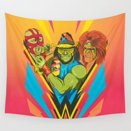 Classic Wrestling Wall Tapestry