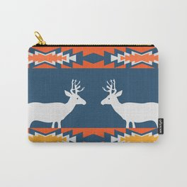 Deer winter pattern Carry-All Pouch