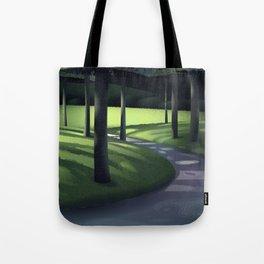 Undergrowth Path Tote Bag