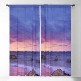 Ocean Beach Dusk Sunset Photography Blackout Curtain