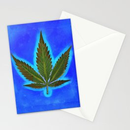Hemp Lumen #1 marijuana, cannabis Stationery Cards