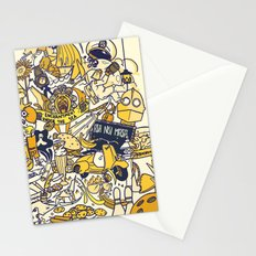 Movies Explosion Stationery Cards