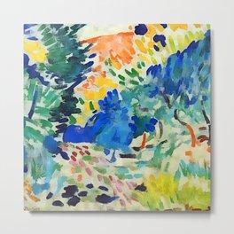 Henri Matisse Landscape at Collioure III Metal Print
