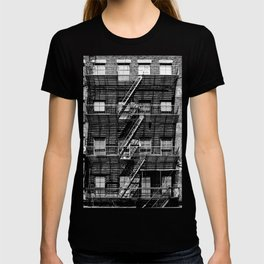 Fire escapes at noon T-shirt