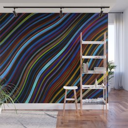 Wild Wavy Lines 45 Wall Mural