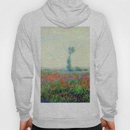 """Claude Monet """"Poppy Field"""", 1881 Hoody"""