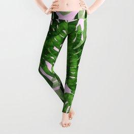 Tropical leaf VI Leggings