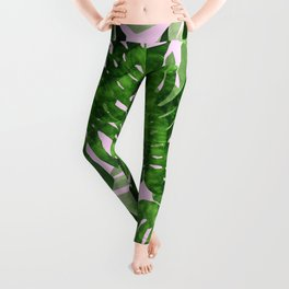 Tropical leaf VI Leggings