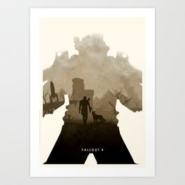 Fallout 4 (II) Art Print