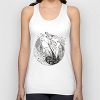dragonfly Tank Tops featuring Dragonfly by Gosia&Helena
