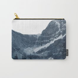 Transparent Snowy Mountains Carry-All Pouch