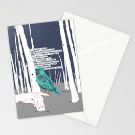 Peppermint Wind Stationery Cards