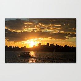 Follow the Sun Canvas Print