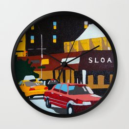 Changing Landscape Wall Clock