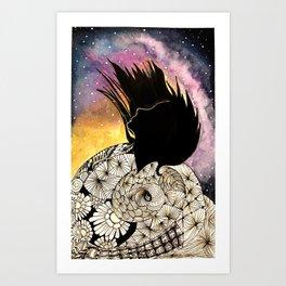 SPIRALS OF LIFE Art Print